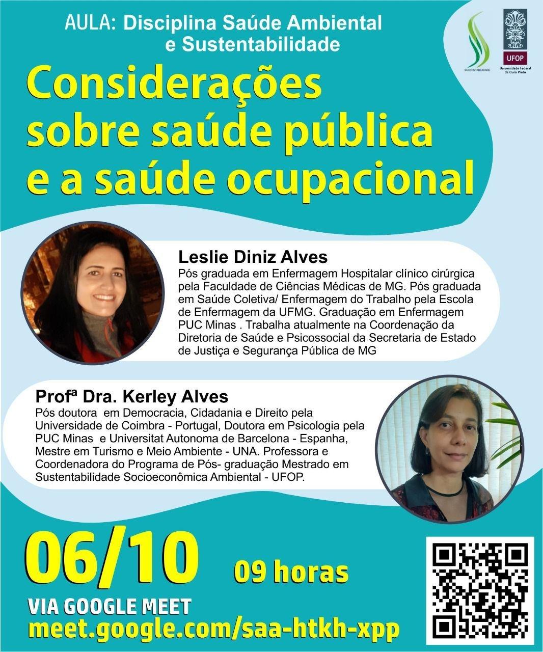 Considerações sobre saúde pública e a saúde ocupacional